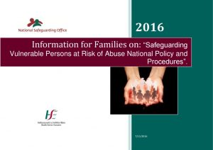 Information for families on safeguarding policy HSE